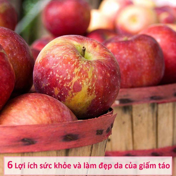 6 Lợi ích sức khỏe và làm đẹp làn da của giấm táo