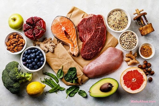 Ăn thực phẩm giàu dinh dưỡng
