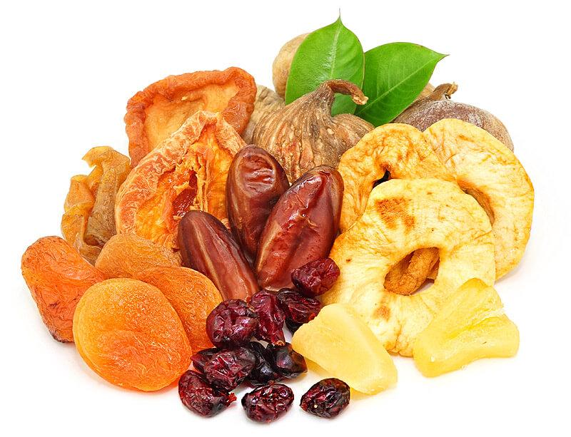 Bệnh tiểu đường nên kiêng ăn trái cây sấy khô