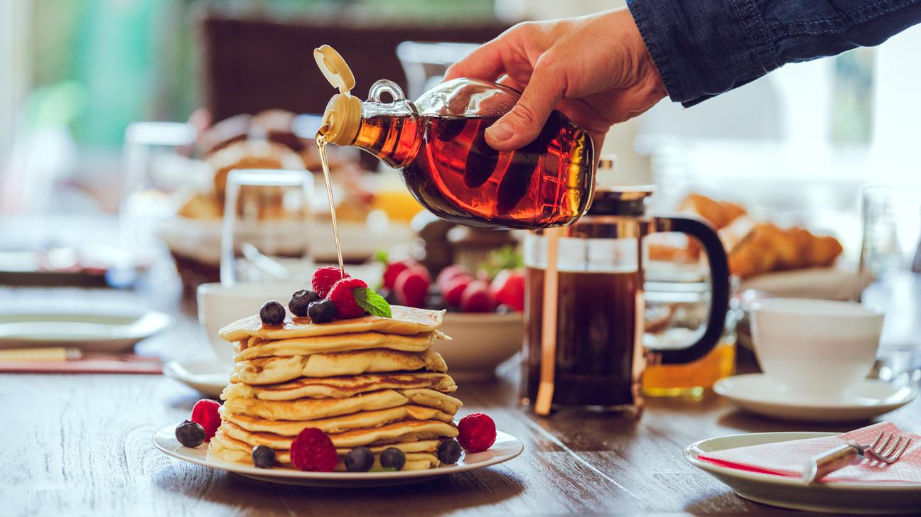 Bệnh tiểu đường nên kiêng mật ong maple syrup