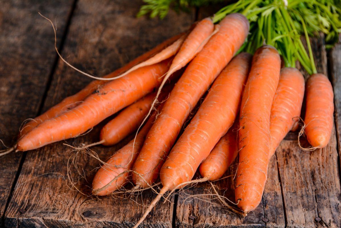 Cà rốt tốt cho sức khỏe