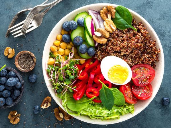 Chế độ ăn DASH và thực phẩm được khuyến nghị