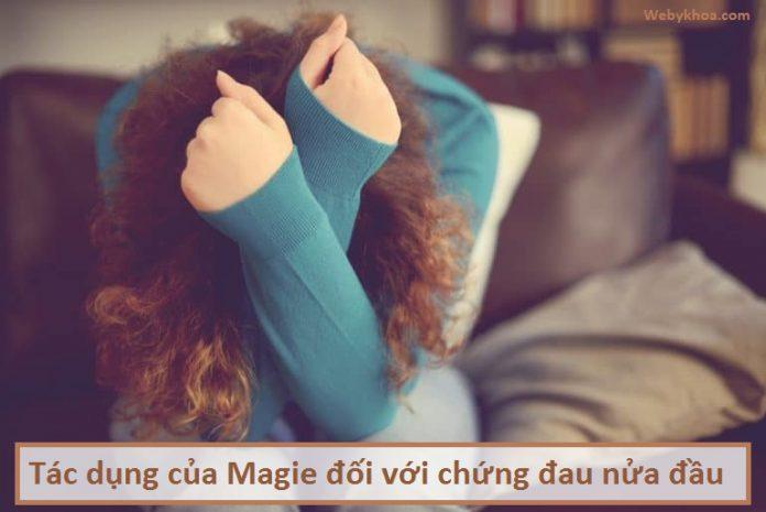 Tác dụng của Magie đối với chứng đau nửa đầu
