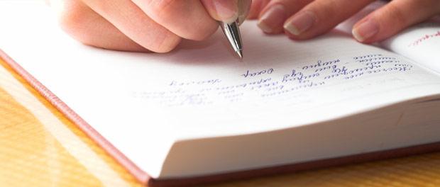 Viết nhật ký giúp làm dịu tâm trí và chế ngự những suy nghĩ phức tạp