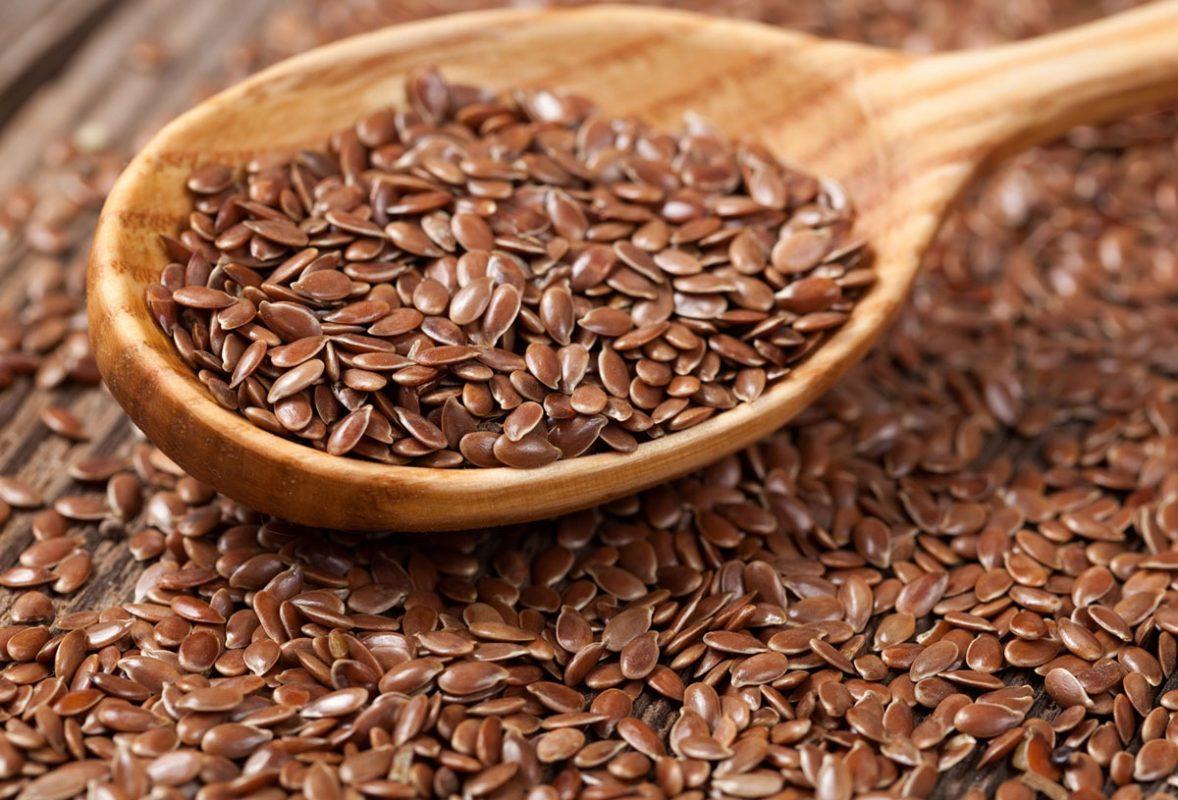 Hạt lanh rất giàu axit béo omega-3